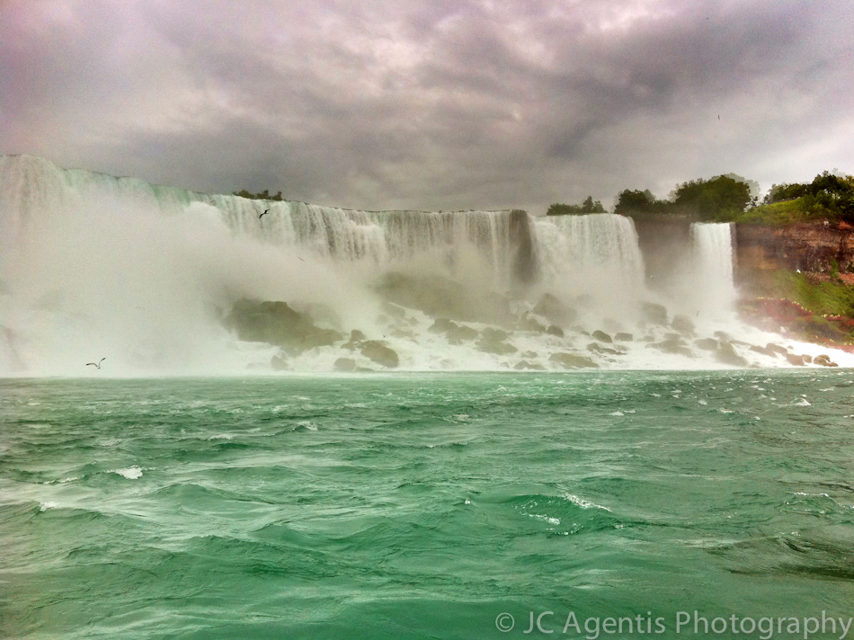 Niagara Falls taken with the iPhone