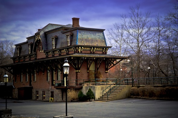 The Main Street Depot. Bethlehem Pennsylvania