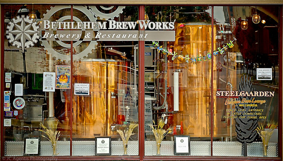 Brew Works. Bethlehem, Pennsylvania in the Lehigh Valley