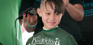 Shaving for St Baldrick's in Boynton Beach, Florida by Lehigh Valley Photographer