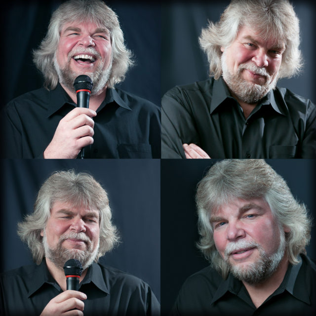 Profile Headshots of comedian Bob Guenther by  Bethlehem Photographer Jacqueline Agentis Photography